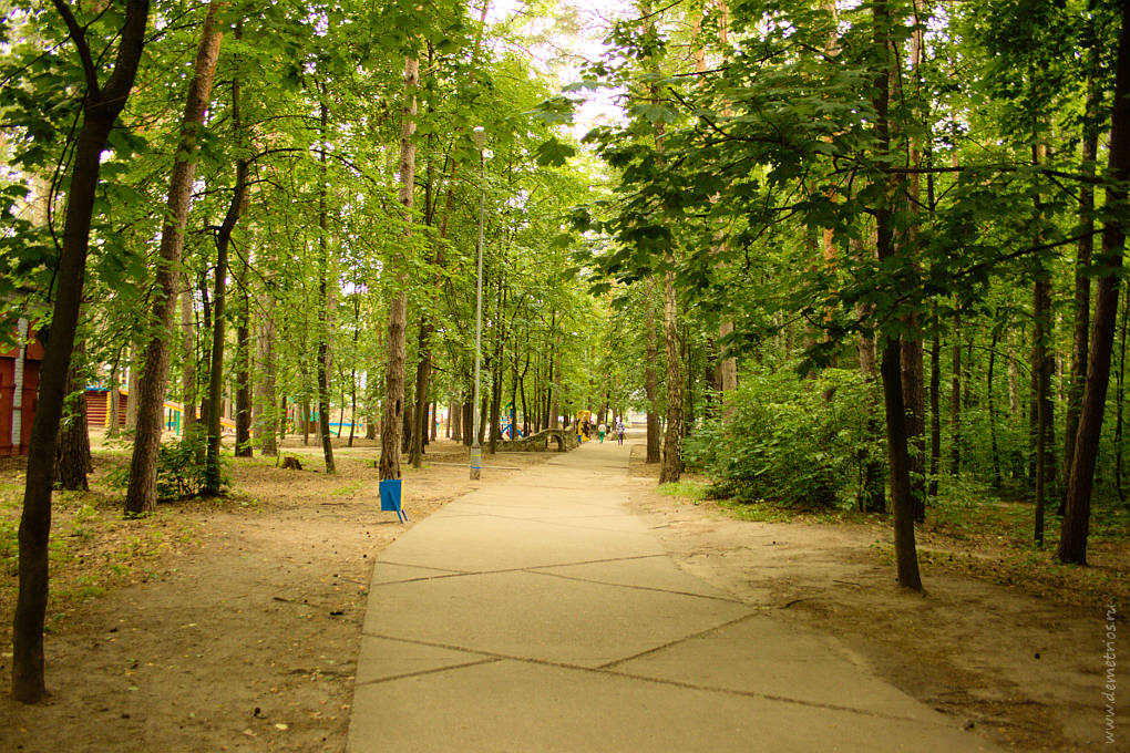 Парк в Протвино